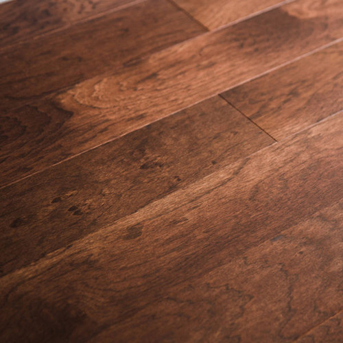 "Style Selections 5"" Molasses Hickory Engineered Hardwood Flooring (24.5-sq ft)"