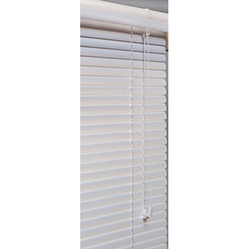 Lotus & Windoware 1-Inch PVC Miniblind, 54 by 60-Inch, White - New
