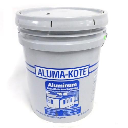 Gardner Aluma-Kote Gloss Aluminum Fibered Aluminum Roof Coating - 4.75 GAL