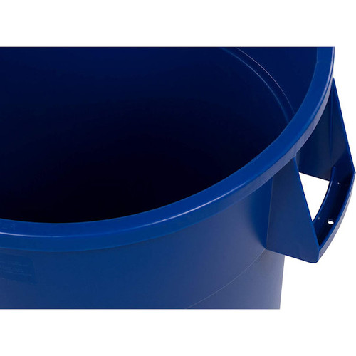 Carlisle 34104414 Bronco Round Waste Container Only, 44 Gallon, Blue