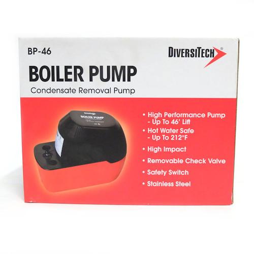 Diversitech BP-46 Heavy Duty Boiler Pump for Hot Water Applications