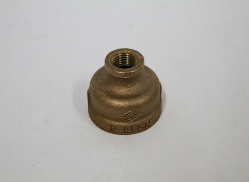 ProFlo IBRLFRCJD 1-1/2 X 1/2 Brass Reducer Coupling, Pack of 20