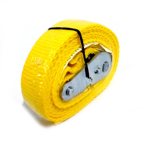 PROGRIP 512062 6 ft. x 1 in. Lashing Strap with Cambuckle in Yellow