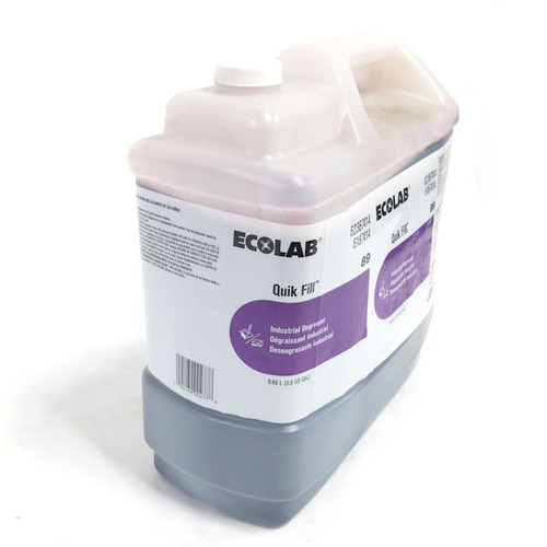 Ecolab 2.5 Gal. Quik Fill 89 Industrial Degreaser  (see notes)