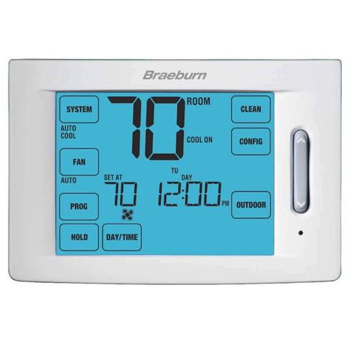 BRAEBURN 7320 Universal Smart Thermostat Wi-Fi Programmable 3H//2C