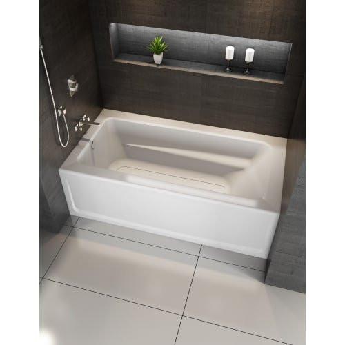 """Jacuzzi J1A6032BLXXXX Signature 60"""" Acrylic Soaking Bathtub - Oyster"""