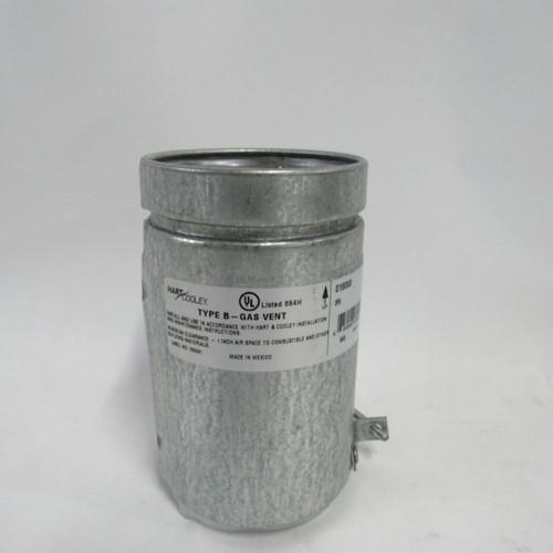 "Hart & Cooley Type B-Gas Vent 3RA / 016000, 3 1/2"" X 6"""