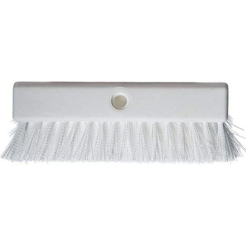 "Carlisle 4042302 Hi-Lo Floor Scrub Brush 10"", White"