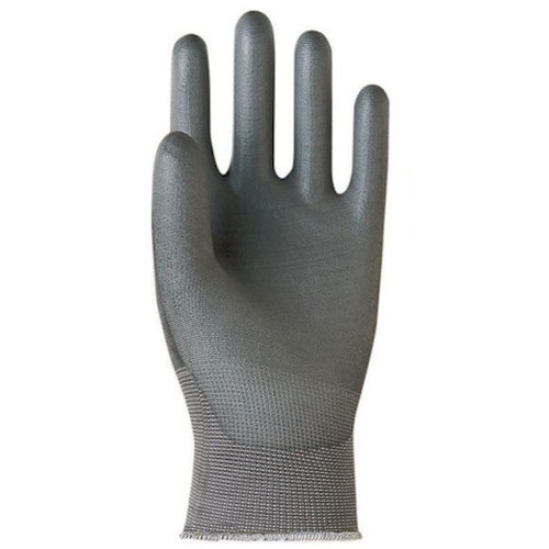 12-Pairs - Banom 3605-8.5 Glove All-Grip Size 8.5 Taperfit Gloves in Grey