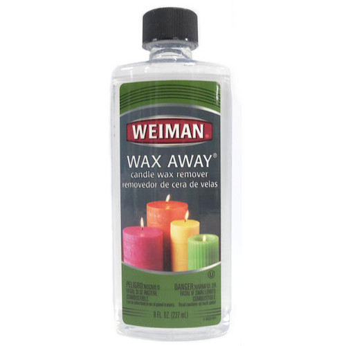 Weiman Wax Away Candle Wax Remover, 8 oz Bottle