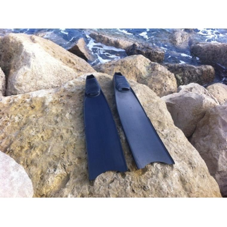 Fins4u carbon Stereoblades spearfshing fins