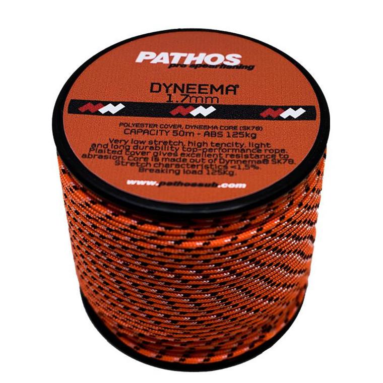 Pathos Dyneema Cord 50m - Orange 1.7mm