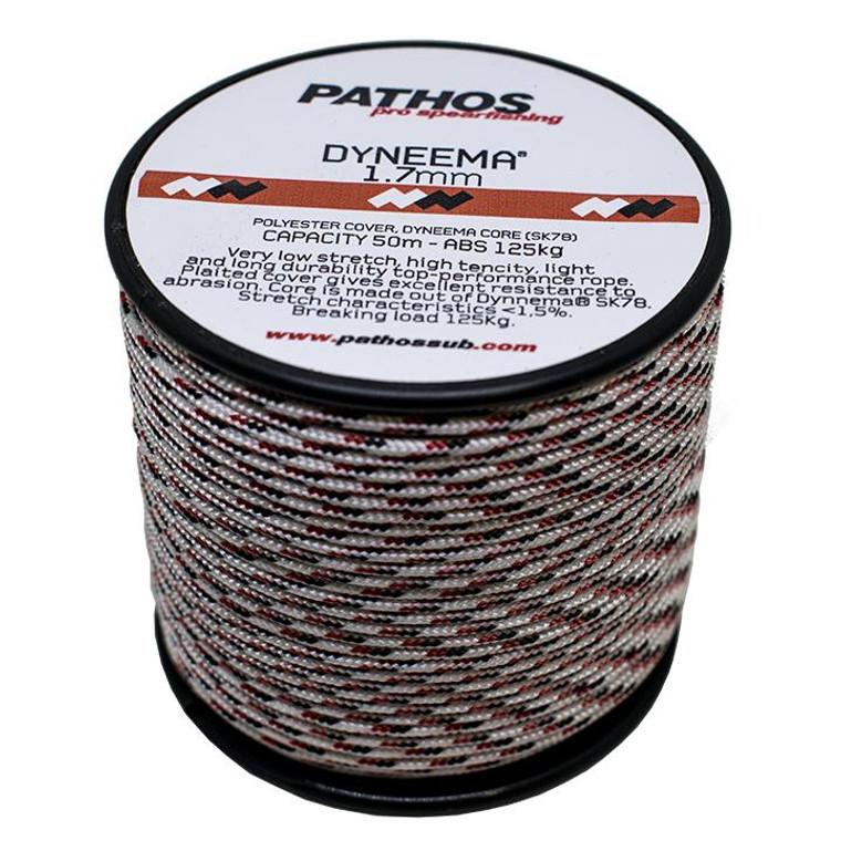 Pathos Dyneema Cord 50m - White 1.7mm