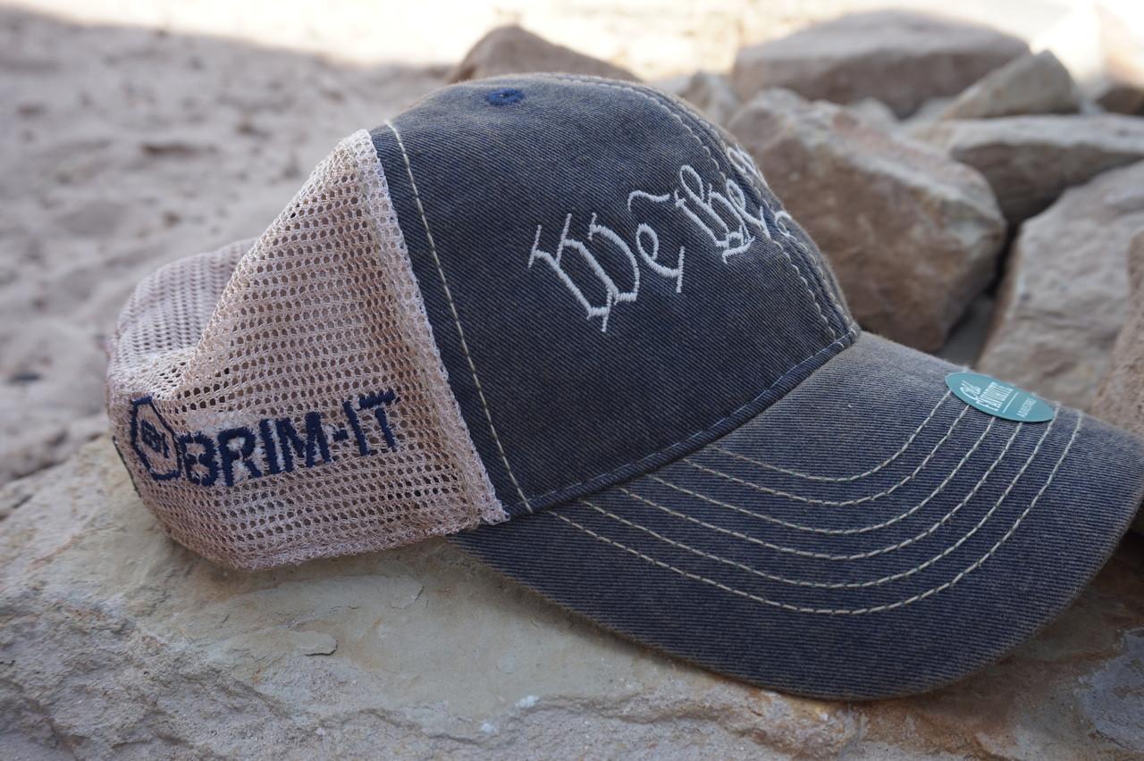0d1d80e370e90 We the People Trucker Style Hat - Brim-it