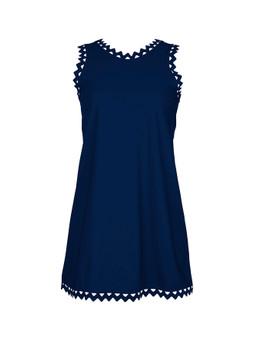 Reina rick rack mini dress