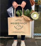 Moses and Co. Jute Bag