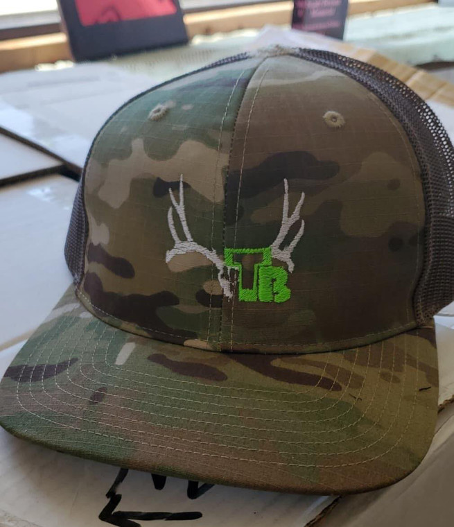 Tall Tine Bowstrings Camo Hat