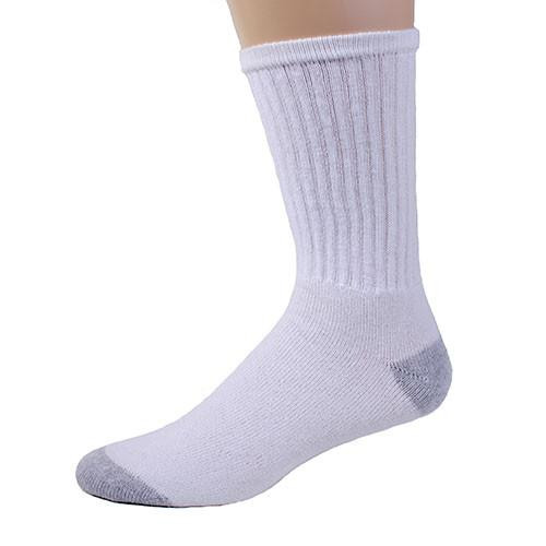 American Made Athletic Children's Crew Socks (12 Pair Pack) Choose Size & Color