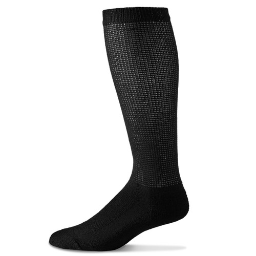 Physician's Choice Over Calf Diabetic Sock_Black