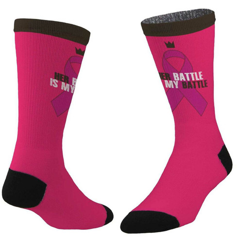 Sublimity® In It To Win It  Breast Cancer Awareness (1 Pair) Size 10-13