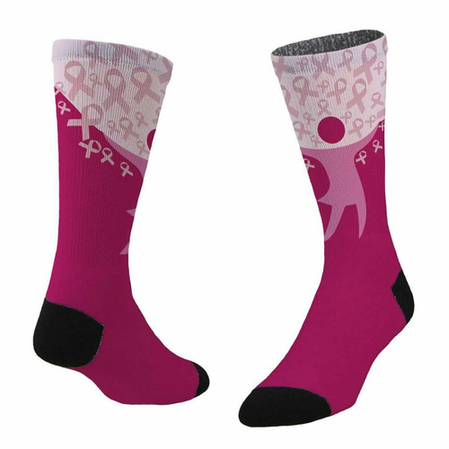 Sublimity® Strength Breast Cancer Awareness (1 Pair) Size 9-11