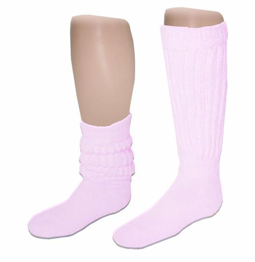 Sublimity®  Slouch Socks_Light Pink
