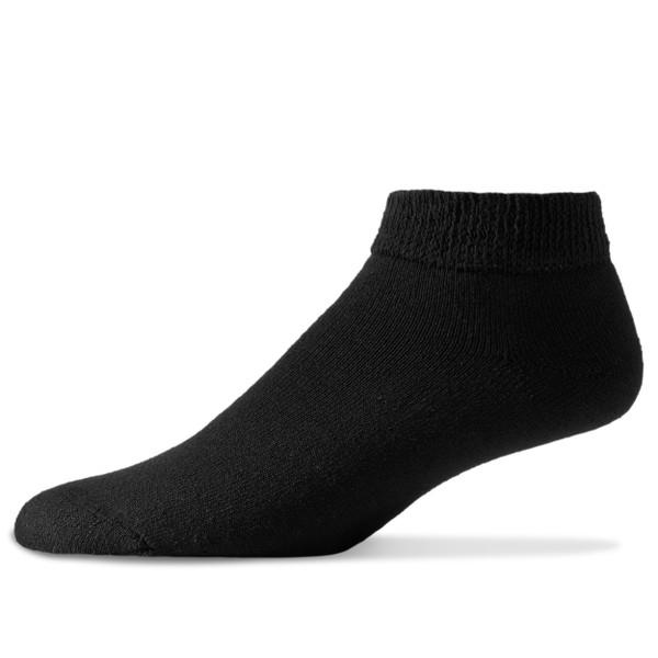Physicians' Choice Diabetic Low Cut Socks (12 Pair Pack) Choose Color & Size
