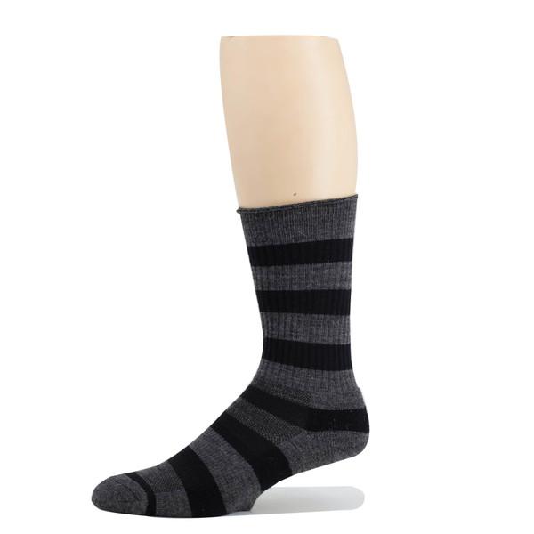 Sublimity® Ladies wool crew socks, assorted color 3 pair pack