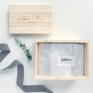 Personalized Keepsake Gift Box for Babies, Bridal Parties, Weddings and MORE ...