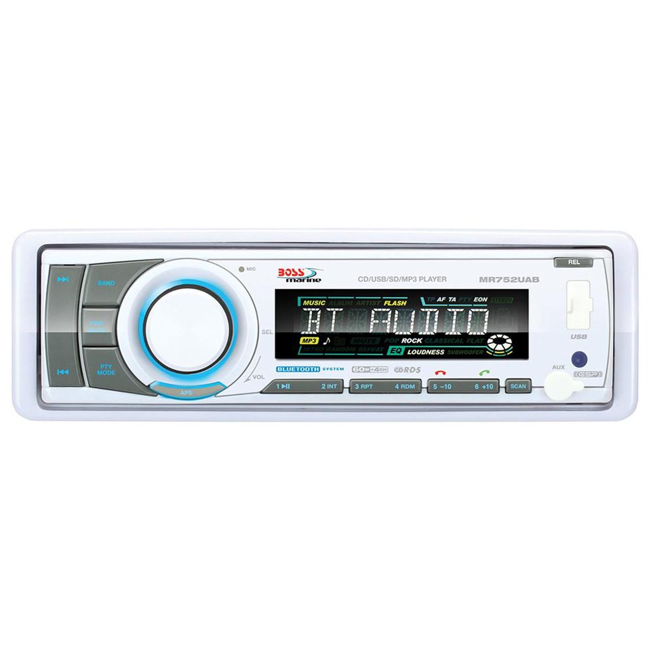 Boss Audio MR632UAB Multimedia Player USB//SD//MP3//WMA//AM//FM w// Bluetooth