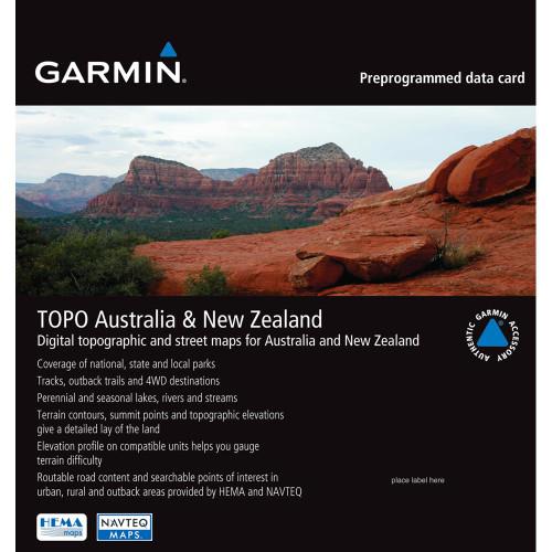 Garmin TOPO - Australia /SD