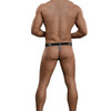 Men's Underwear - Male Power Bamboo Mens Micro Thong in grey no rear view