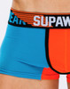 Men's Underwear - Close up front view of TURBO trunk by SUPAWEAR