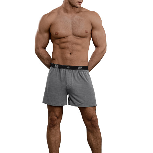 Mens Underwear - Front view of Male Power Bamboo Boxer Short