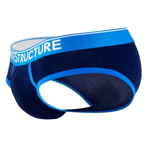 Mens Underwear - Front view of Private Structure Quantum Briefs