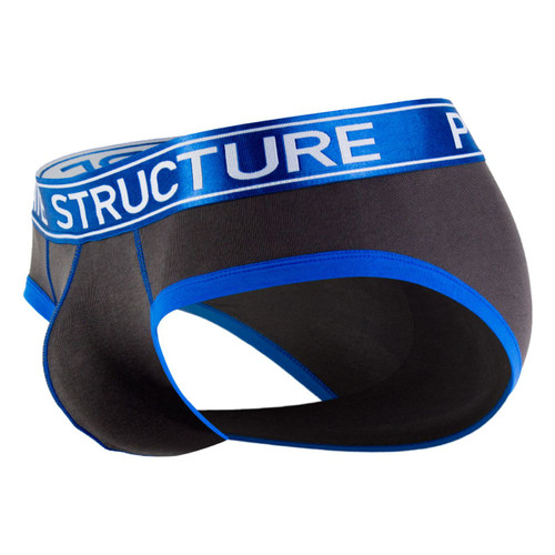 Mens Underwear - Front view of Private Structure Soho Luminous Briefs