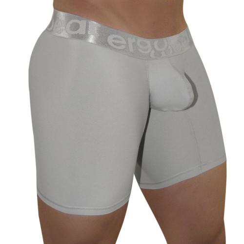 Mens Underwear - Front view of Ergowear MAX XV Chrysler Boxer Brief - Mens Underwear