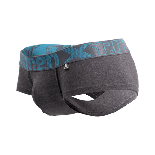 Xtremen Piping Briefs - Traditional Cotton Mens Brief