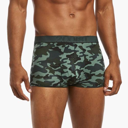 2(X)IST Speed Dri Mesh Boxer Brief - Mens Mesh Underwear