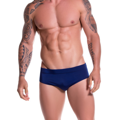 Mens Underwear - Front view of JOR Sunga Swim Briefs - Retro Full Cut Swim Brief