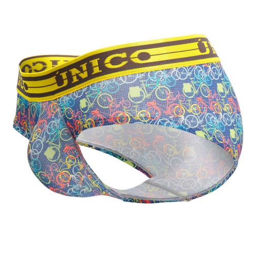 Mens Underwear - Front view of Unico Underwear Timeless Briefs - Brief Style Mens Underwear
