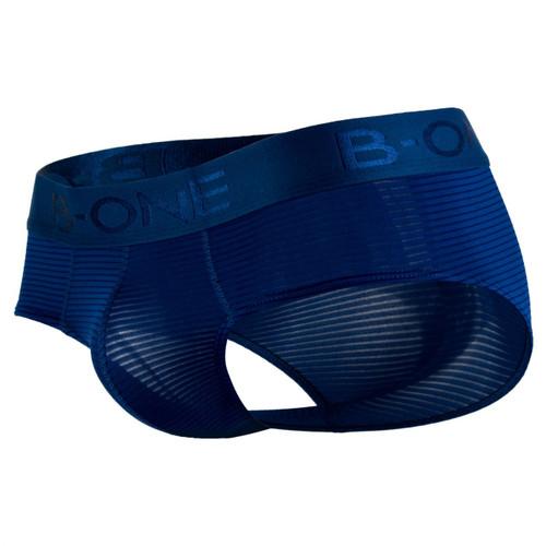Mens Underwear - Front view of B-One Luxur Briefs Classic Mens Brief Style Underwear