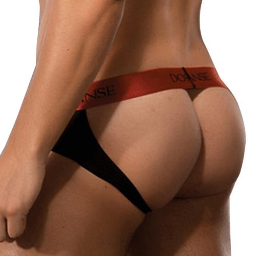 Mens Underwear - Front view of Doreanse Bravo Brief-Jock - Jockstrap with Brief Style Front