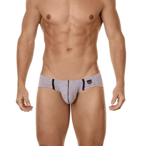 Mens Underwear - Front view of Clever Beats Latin Briefs - Mens Underwear