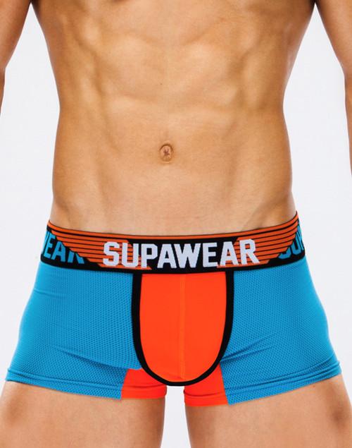 Men's Underwear - Front view of TURBO trunk by SUPAWEAR