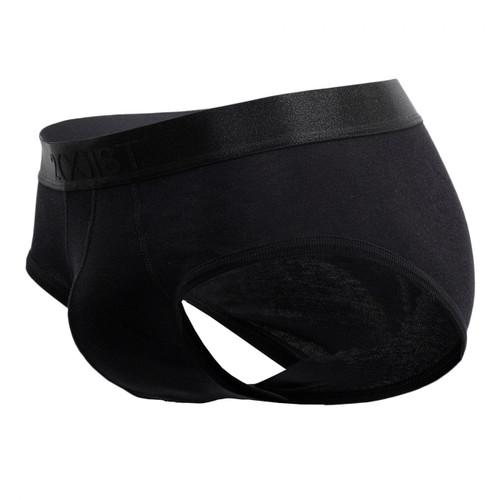 Mens Underwear - Front view of 2(X)IST Pima Cotton Contour Pouch Briefs - Mens Underwear