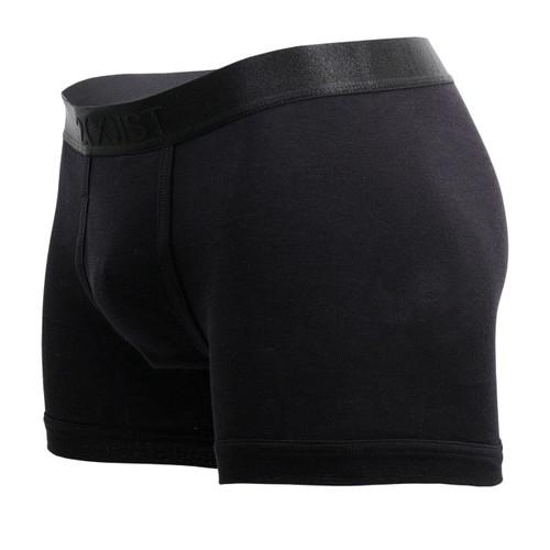 Mens Underwear - Front view of 2(X)IST Pima Cotton Boxer Briefs - Mens Underwear