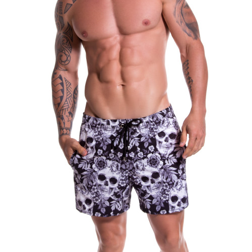 Mens Underwear - Front view of JOR Swimwear Tequila Swim Shorts - Mens swimwear