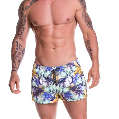 Mens Underwear - Front view of JOR Swimwear Congo Mini Short - Mens Short Swimwear