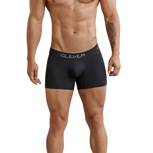 Mens Underwear - Front view of Clever Underwear Basic Boxer - Basic Cotton Trunk Style Undies
